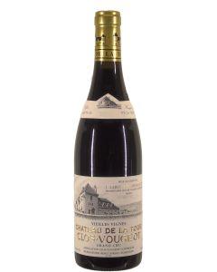 Clos de Vougeot Grand Cru Vieilles Vignes Chateau de la Tour 2015