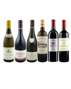 Burgundy & Bordeaux Mixed Case