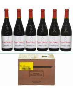 Chateauneuf-du-Pape Collection Charles Giraud Domaine Saint Prefert 2010