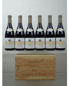 Chambertin Grand Cru Domaine du Clos Frantin Albert Bichot 2012