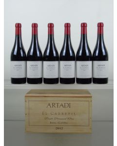 Montes El Carretil Artadi 2012
