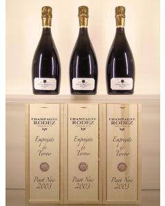 Empreinte de Terroir Pinot Noir Grand Cru Eric Rodez 2003