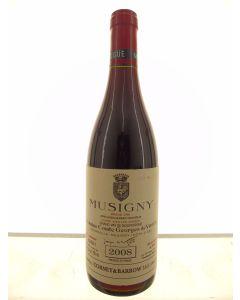 Musigny Vieilles Vignes Grand Cru Domaine Comte Georges de Vogue 2008