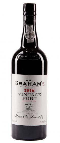 Graham Vintage Port 2016 Halves
