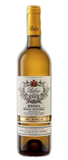 Belezos Rioja Blanco Oak Aged Bodegas Zugober 2019