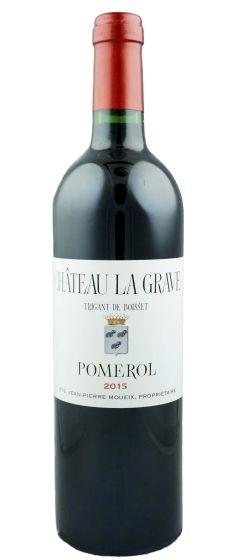 Chateau La Grave a Pomerol 2015 Double Magnum