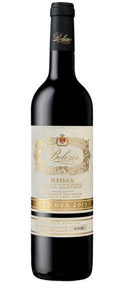 Belezos Rioja Reserva Bodegas Zugober 2013