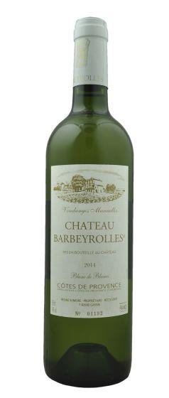 Chateau Barbeyrolles Blanc AOC Cotes de Provence 2014