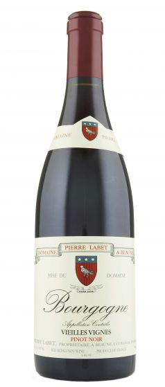 Bourgogne Pinot Noir Vieilles Vignes Domaine Pierre Labet 2017
