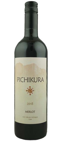 Pichikura Merlot Vinedos Marchigue 2018