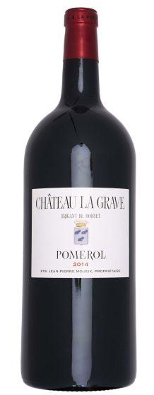 Chateau La Grave a Pomerol 2014 Double Magnum