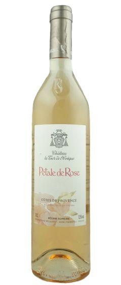 Petale de Rose Chateau la Tour de l'Eveque Rose AOC Cotes de Provence 2020