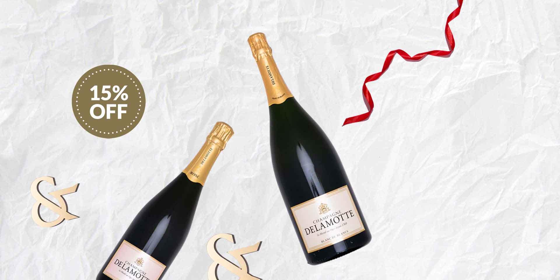 Delamotte Champagne Offer