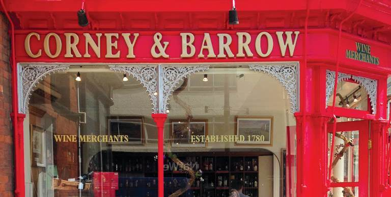 Corney and Barrow Newmarket East Anglia