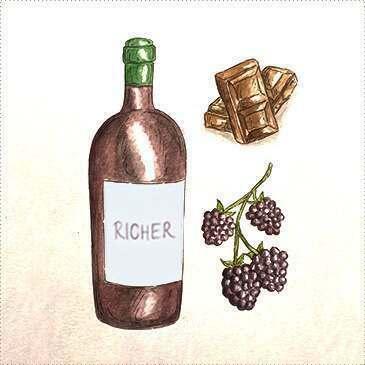 Malbec & Richer Reds wine