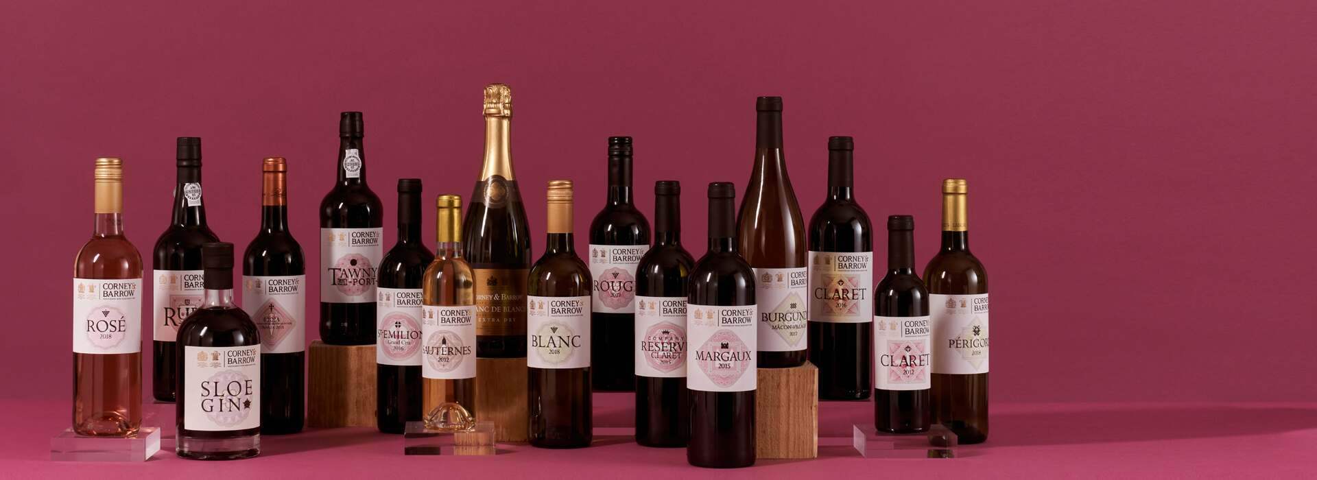 Corney and Barrow own label wine