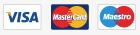 Visa, Mastercard, Maestro